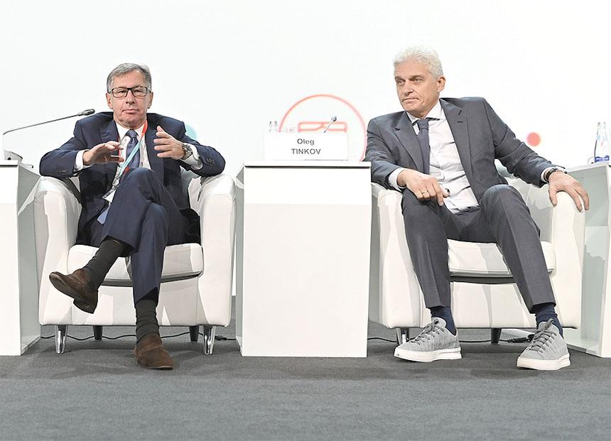 Петр Авен и Олег Тиньков